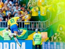 Neymar houdt Brazilië op koers