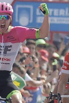 Mollema grijpt naast ritzege in Roquetas de Mar, Clarke wint