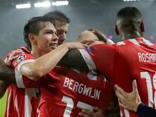 Ook soeverein PSV meldt zich bij Champions League-elite