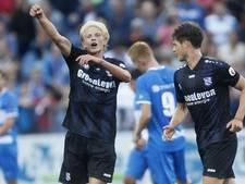 Tiental Heerenveen wint doelpuntrijk openingsduel in Zwolle