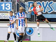 Geblunder in slotfase haalt glans van ruime zege Feyenoord