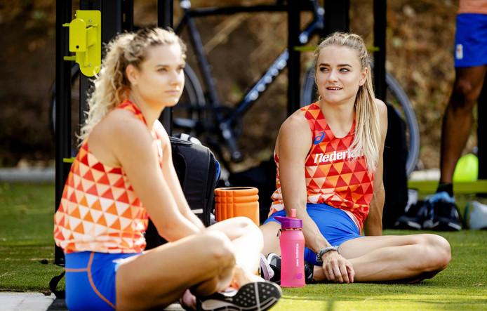 Laura en Lisanne de Witte.